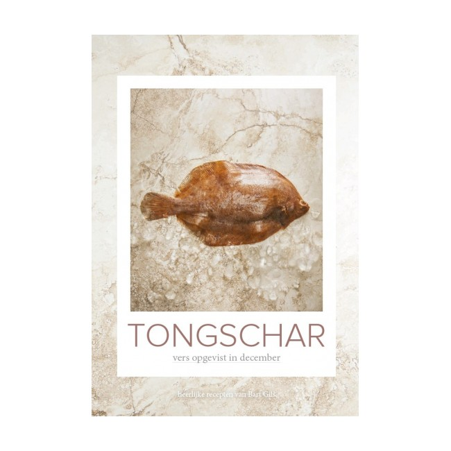 Tongschar: vers opgevist in december
